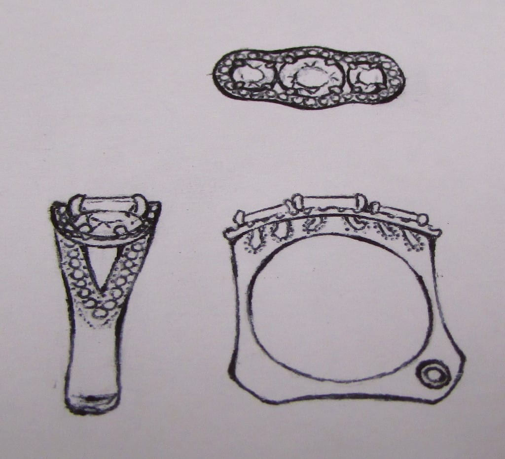 Original Concept Art for Ring by Jessica
