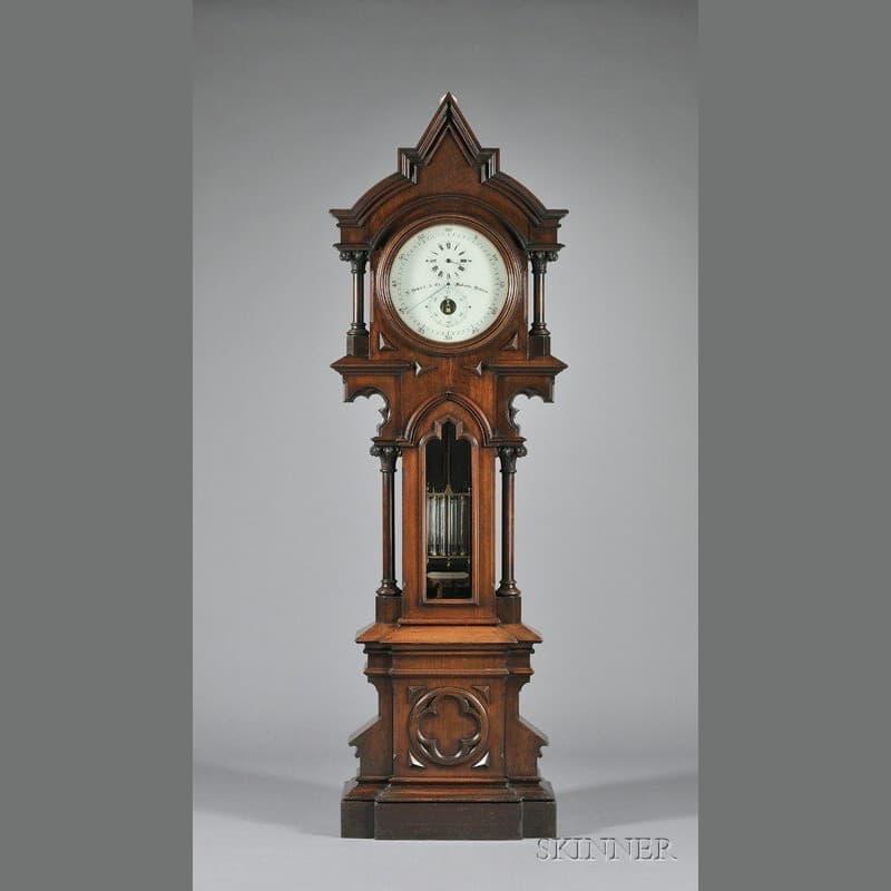 Herkner's Treasured Clock, the E Howard Regulator