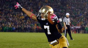 Notre Dame Fighting Irish wide receiver T.J. Jones (7). (Photo: Brian Spurlock /US PRESSWIRE)