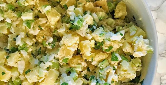 Grandma's Potato Salad with Parsley & Chives