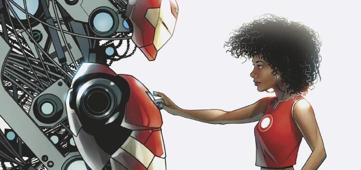 Riri Williams as Ironheart