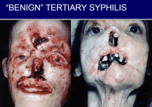 effects of syphilis long term