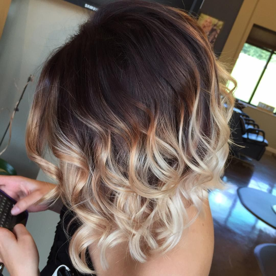 35 Hottest Short Ombre Hairstyles for 2018   Best Ombre Hair Color Ideas Image result for short ombre hair