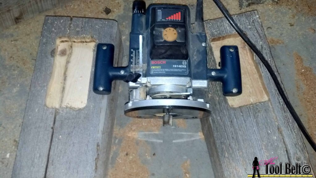 barnwood bed router