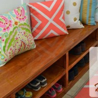 Shoe Shelf Bench