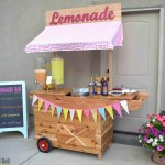 Lemonade cart -lemonade bar