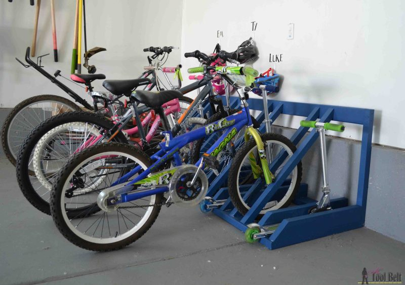 Large Of Garage Bike Rack