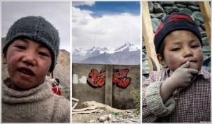 voyage graffiti en inde ladakh