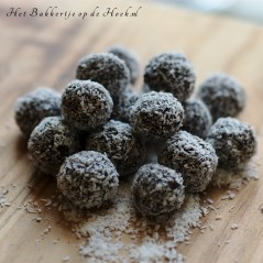 foto; Goji kokos truffels