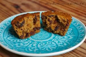 foto: Glutenvrije muffins met rozijnen