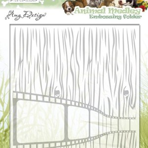 ADEMB10001 - Amy Design - Embossingfolder - Animal Medley.indd