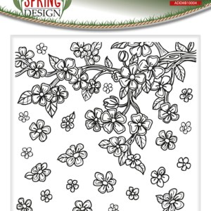 ADEMB10004 - Amy Design - Spring - Embossingfolder outline.indd