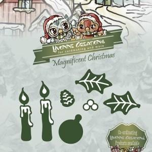 YCD10012 - Yvonne Creations Kerst - Kerststukje.indd