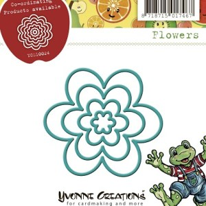 YCD10024 - Flowers - Yvonne Creations.indd
