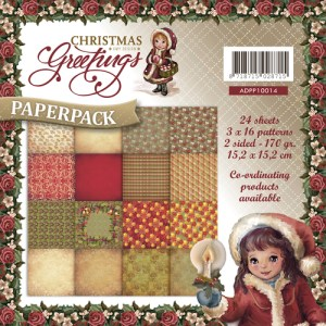 ADPP10014 - Amy Design - Paperpack - Christmas Greetings.indd