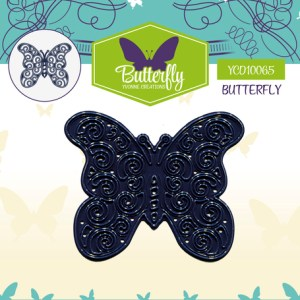 YCD10065 - Yvonne Creations - Butterfly - Butterfly 1.indd