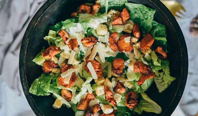 Middle Path | Chicken Tikka Caesar Salad