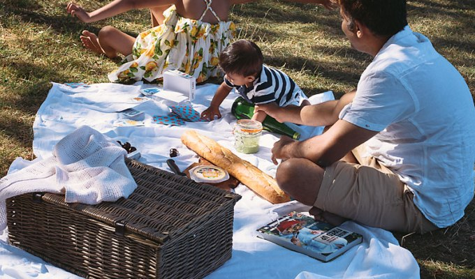 Once Upon a Box Hill | Art of family Picnics