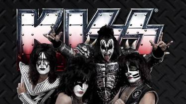 Kiss in 2014, with replacements for Frehley and Criss.