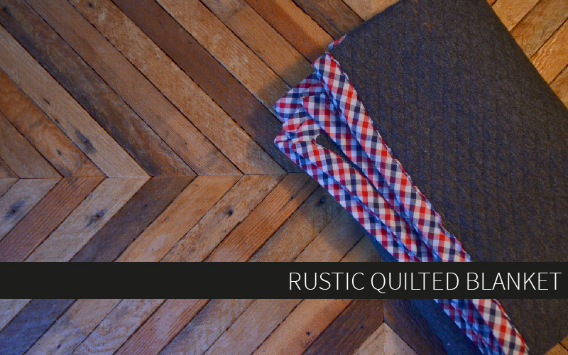 Project Linus: Make a Rustic Quilted Blanket