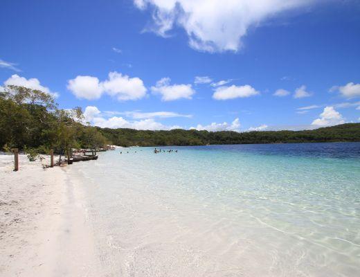Lake McKenzie- Fraser Island, Australia