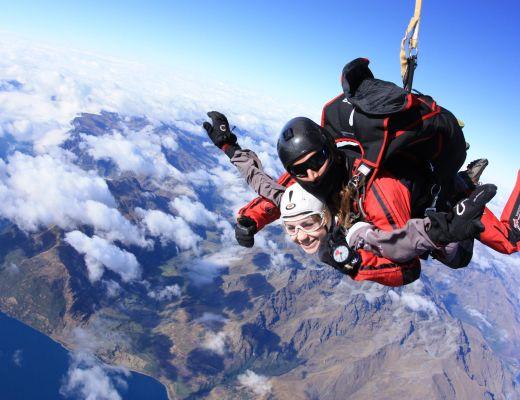 Skydive - Queenstown, New Zealand-2