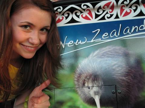 SURPRISE!! I'm in New Zealand