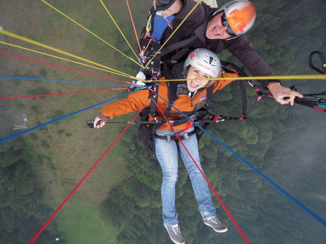 Paragliding- Hopfgarten, Austria