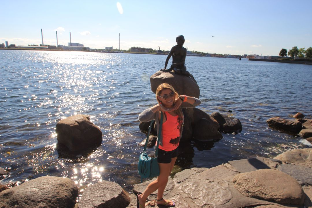The Little Mermaid - Copenhagen, Denmark