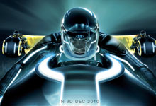 Tron 2 220 A Poster, an Image the Synopsis & Release Date for Tron Legacy