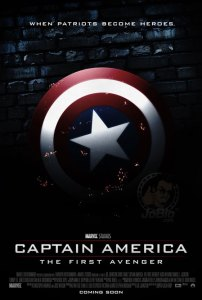Captain America First Avenger Teaser Poster 202x300 Joe Johnston Talks Captain Americas Place In The Marvel Universe