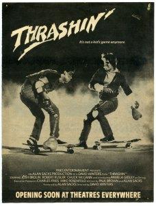 Thrashin poster 2 228x300 Video Vault: Thrashin'