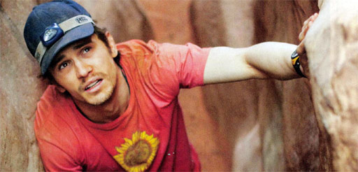 127 hours First Look at Danny Boyle's 127 Hours