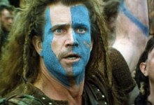 Mel Gibson Braveheart 220x150 40 Inspirational Movie Speeches in 2 Minutes