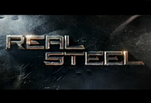 real steel logo Real Steel Trailer Mashes up Fight Club and Transformers