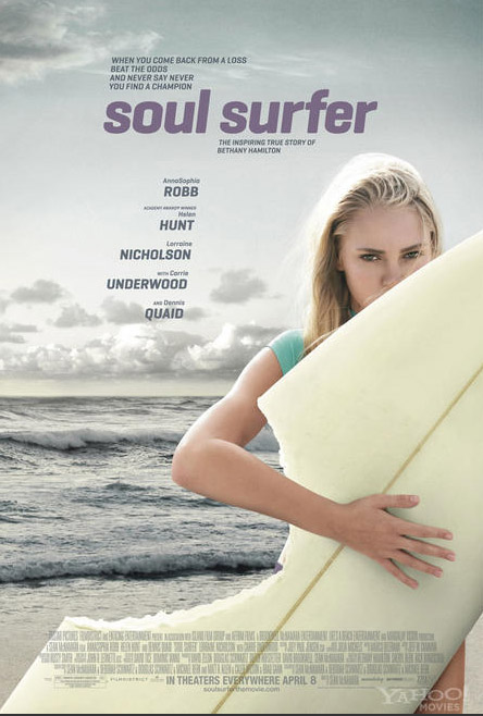 Soul Surfer The First Poster & New Images for Soul Surfer