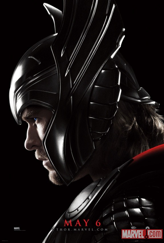 Thor Chris Two New Thor Posters Debut at WonderCon