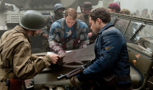 Captain America 5 New Set Of Photos From Captain America: The First Avenger