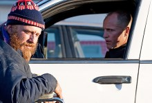 Rampart 3 220x150 First Look Images: Woody Harrelson Gets Angry & Ben Foster Gets a Beard in Rampart