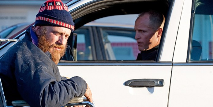First Look Images: Woody Harrelson Gets Angry & Ben Foster Gets a Beard in Rampart
