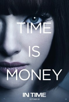 in time seyfried 405x600 Third Trailer for Justin Timberlakes In Time