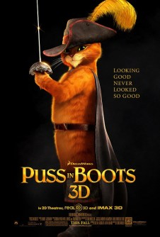 Puss in Boots Poster 405x600 Puss in Boots Review