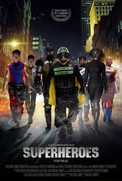 Superheroes Poster LFF 2011: Superheroes Review