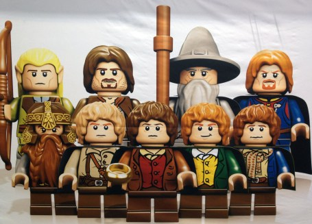 First Photos of LEGO Lord of the Rings and The Avengers Characters