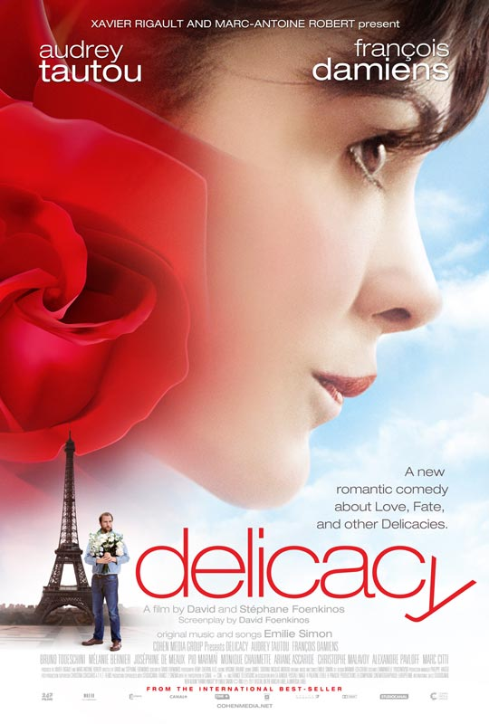 Delicacy poster Lovely First US Trailer and Poster for Delicacy with Audrey Tautou