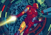 Iron Man Mondo Avengers Posters 220x150 The Gangs Al(most) Here: Four More Mondo Avengers Posters Appear