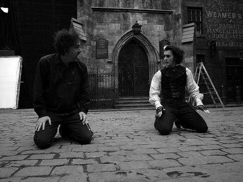 Sweeney Todd BTS 1 The HeyUGuys Instant Watching Guide   August 19th 2013