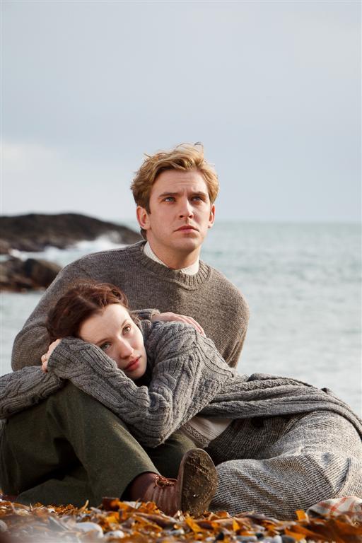 DAN STEVENS EMILY BROWNING Large First Image of Emily Browning and Dan Stevens from Summer in Feburary