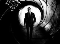 Skyfall Poster showing Daniel Craig as James Bond