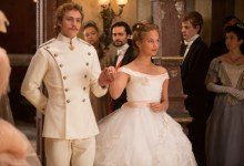 Aaron Taylor-Johnson and  Alicia Vikander in Anna Karenina 3